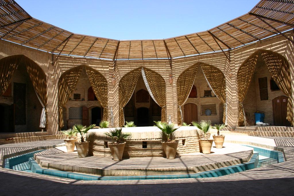 Caravanserai Zein-o-din, Nr. Yazd, Iran