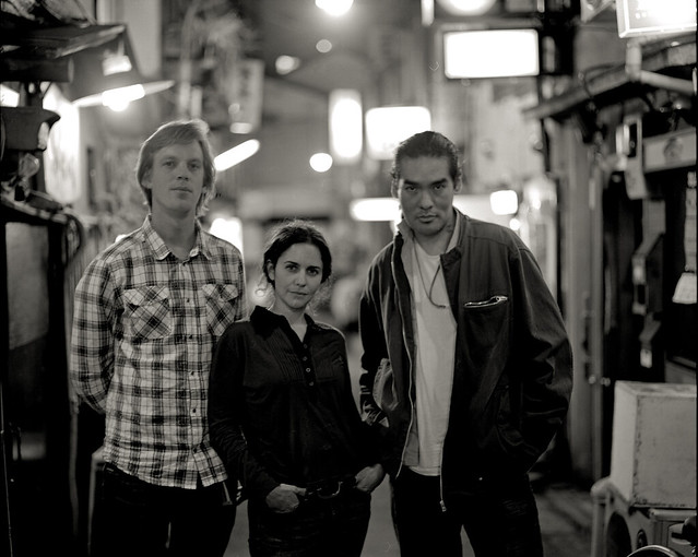 Faces from [Chiaro-Oscuro] with eamon, Camilla and Daniel