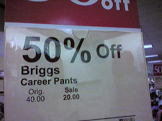 """Career Pants"""