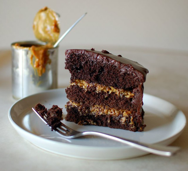 Inside-Out-German Chocolate Cake | Flickr - Photo Sharing!