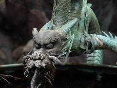 art, gargoyle, sculpture, macro photography, fictional character, dragon, statue,