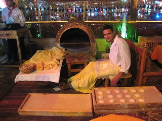 A man making bread ( El Sharma Sheik, Egypt)
