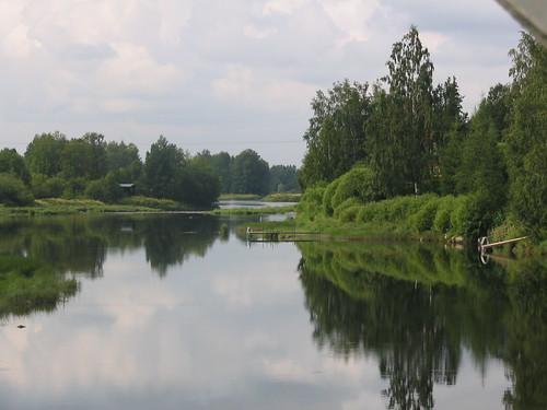 reflection river isokyrö heijastus joki