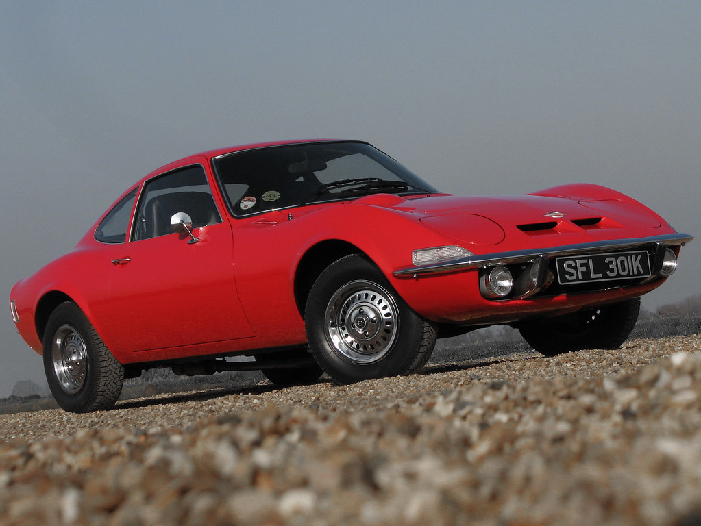 Opel GT by dollywobbler