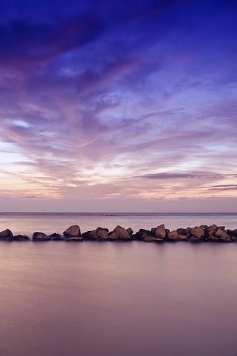 longexposure sea seascape clouds photography rocks purple jeddah saudiarabia khaled waterscape ksa خالد السعودية العربية jiddah جدة المملكة سعودية mywinners السعوديه جده platinumphoto mosscolorfilter