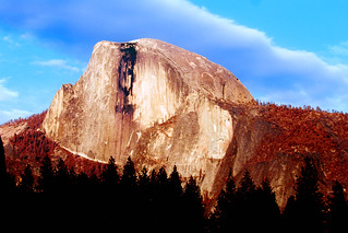 Half Dome IR color