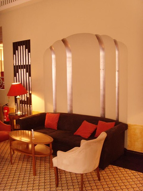 The Lansdowne Club 1930s: London art deco interior ...