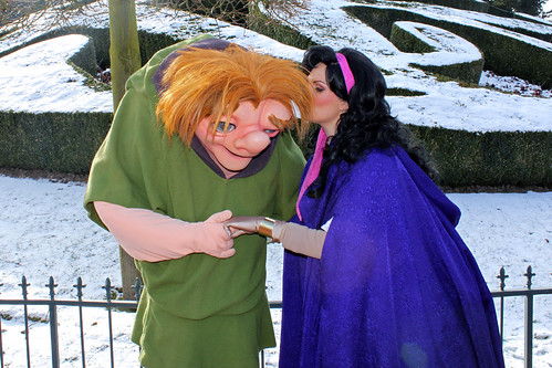 Meeting Quasimodo and Esmerelda
