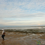 Walking Along Sanur Beach - Bali, Indonesia
