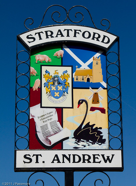 Stratford St. Andrew Village Sign