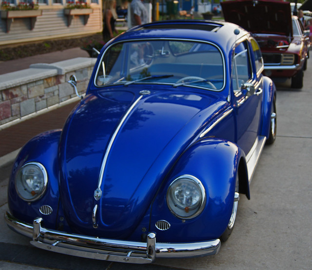 blue punch buggy flickr photo sharing