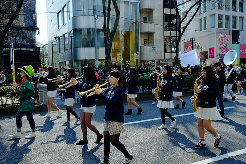 Harajuku St Patricks Day Parade 2014 33