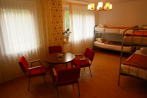 communist charm at the ostel in berlin the mid century modernist. Black Bedroom Furniture Sets. Home Design Ideas