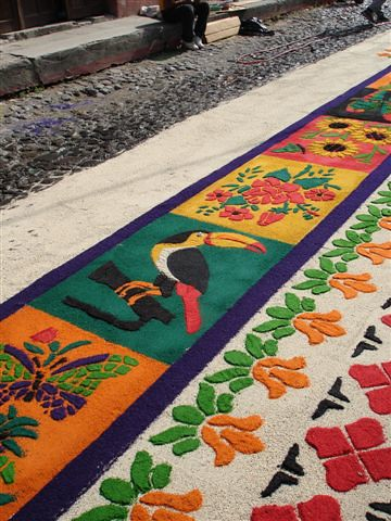 Alfombras in the streets of antigua guatemala flickr for Alfombras turcas antiguas