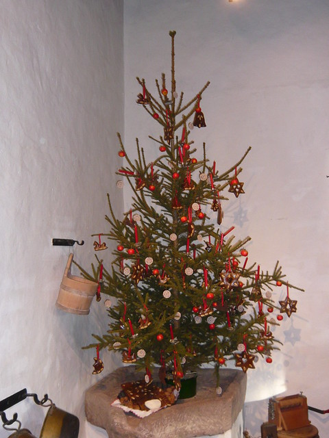 Old Fashioned Christmas Tree Flickr Photo Sharing