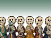 Day of the Dead - Band by mnd.ctrl