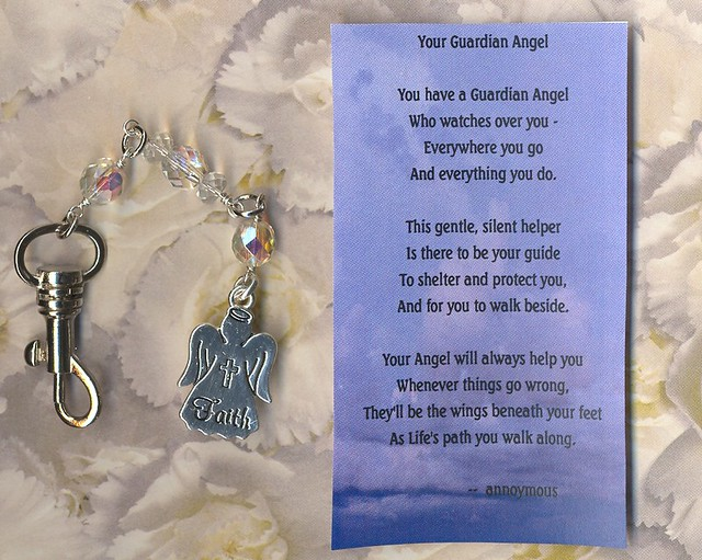 Guardian Angels Poems Guardian Angel Purse Charm