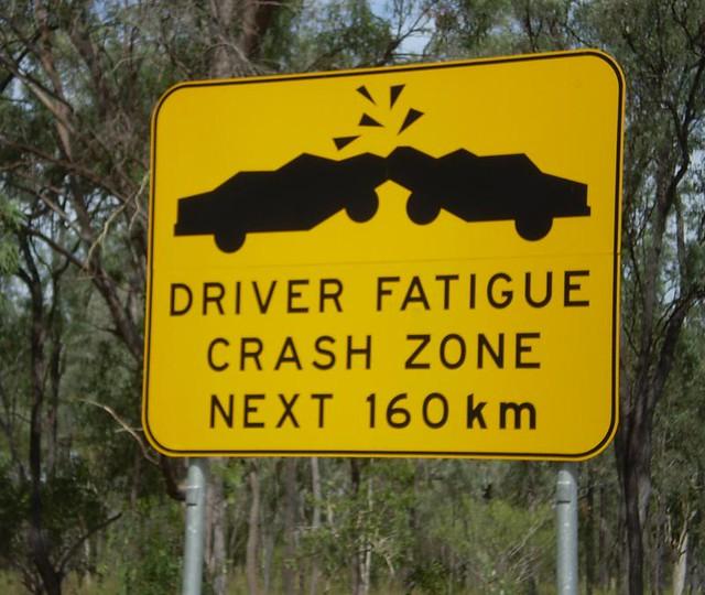 Driver Fatigue Crash Zone from Flickr via Wylio