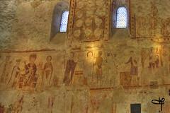 fresques murales de l'église