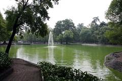 Lake in Chapultepec Park