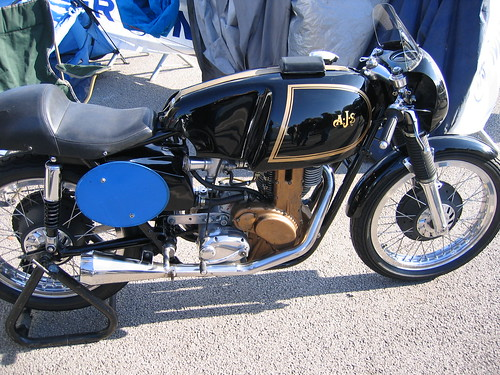 AJS 7R CLASSIC BRITISH RACING MOTORCYCLE.