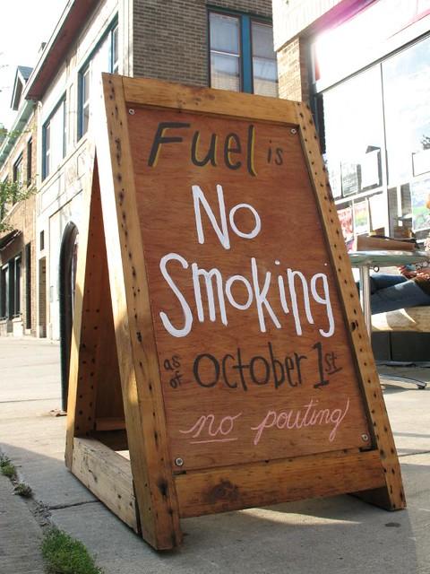 Fuel No Smoking Policy