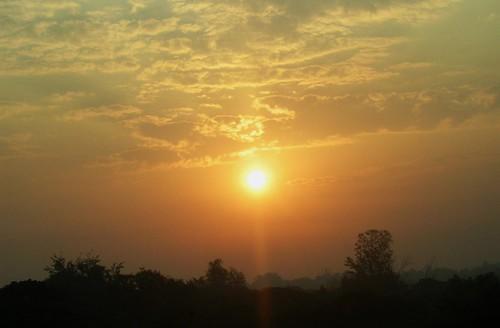 morning light sun clouds sunrise
