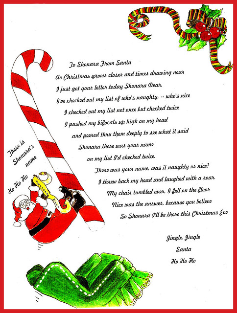 dear santa letter flickr photo letter from santa flickr photo 670