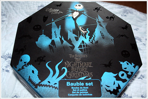 Nightmare Before Christmas Baubles