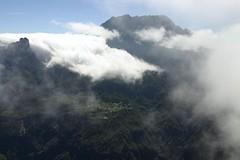 Vue depuis le Maïdo sur le Piton des Neiges, La Réunion