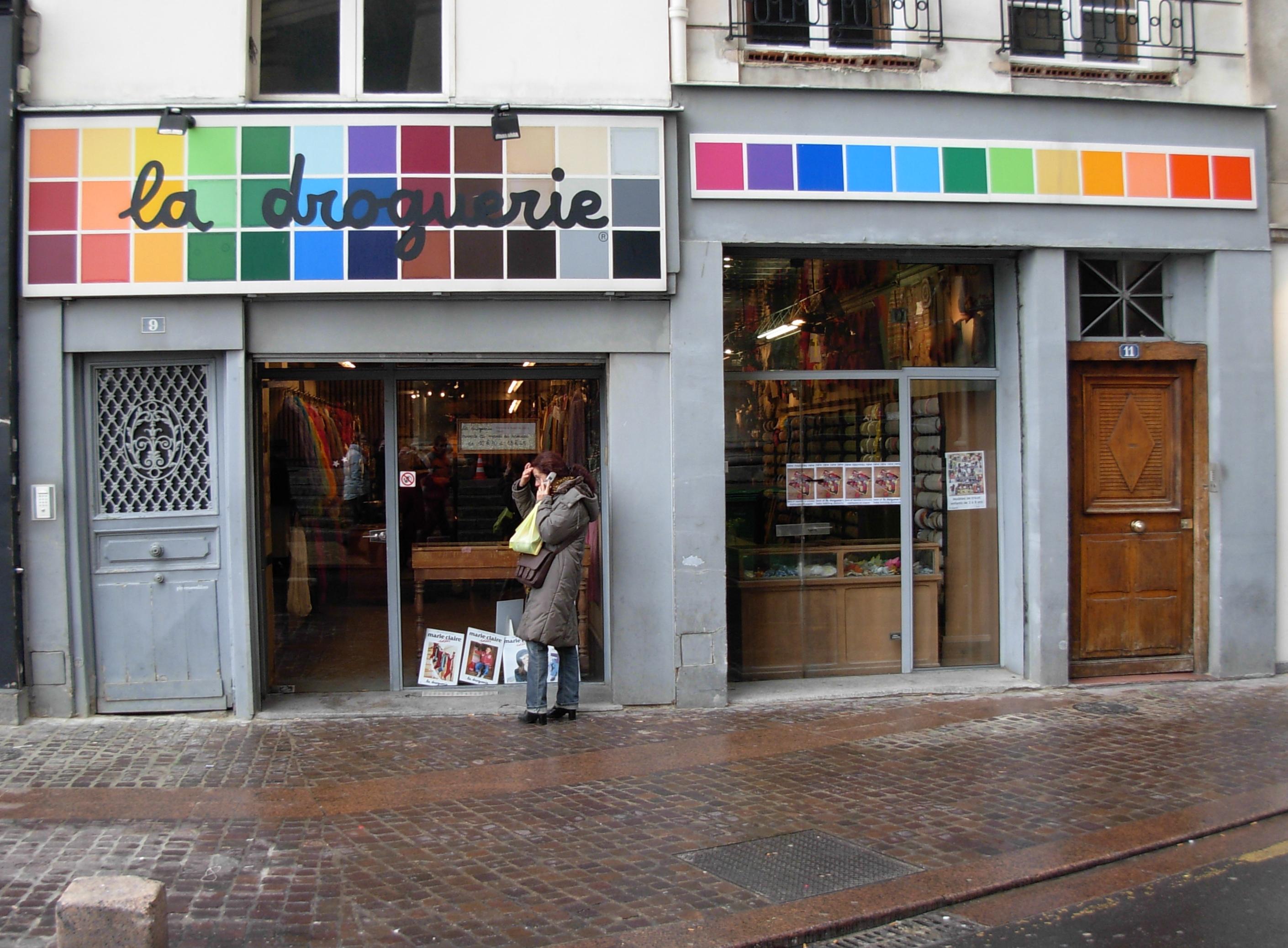 la droguerie knit shop in paris flickr photo sharing. Black Bedroom Furniture Sets. Home Design Ideas