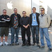 Team TUAW at Macworld 2008 (l-r: me, scott, mike, nik, victor) by ChrisU