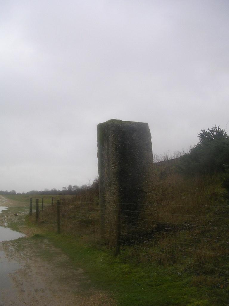 Big bit of concrete Greenham Common Newbury Racecourse to Woolhampton