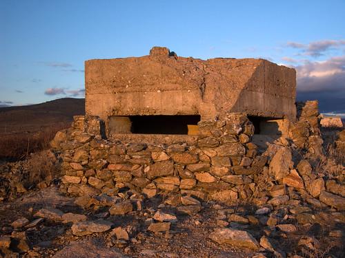 Un bunker de la Guerra Civil