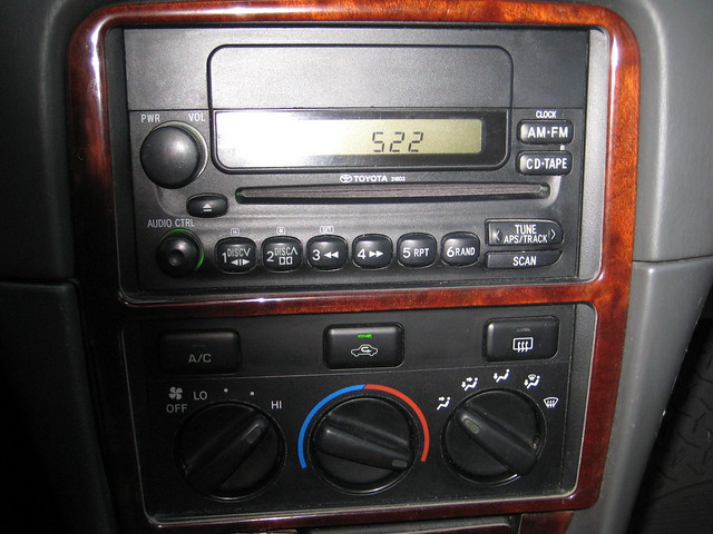 toyota camry 2000 cd player flickr photo sharing. Black Bedroom Furniture Sets. Home Design Ideas