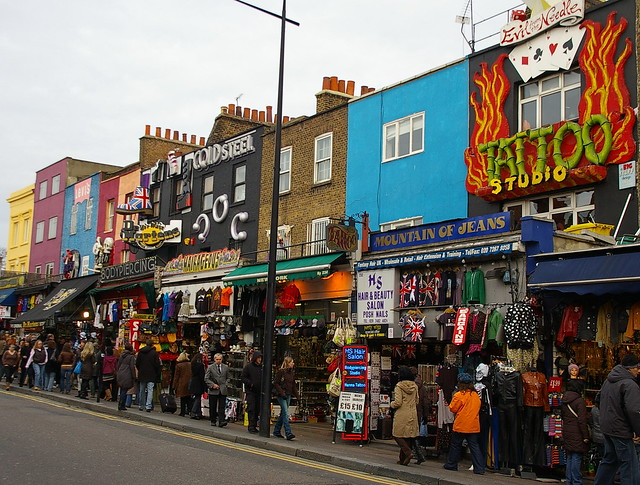Molts colors a Camden / Lot of colour in Camden | Flickr - Photo ...