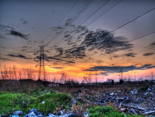 Beautifull sunset? Hmmmm...