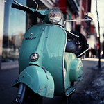 Rock the Vespa
