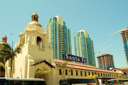 San Diego Santa Fe Train Depot