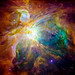 Orion nebula: the heart of the artwork