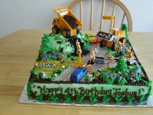 road construction cake