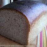 Toastbrot mit Buttermilch und Vollkornmehl