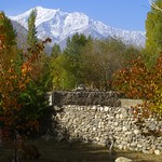 Backyard with Mountain View - Pamir Mountains, Tajikistan