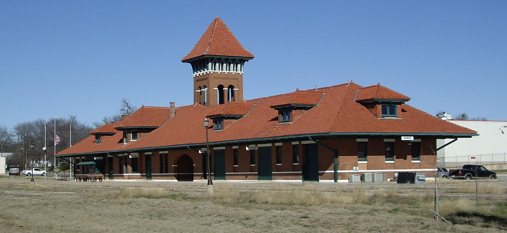 Restored Paris Texas Railroad Depot