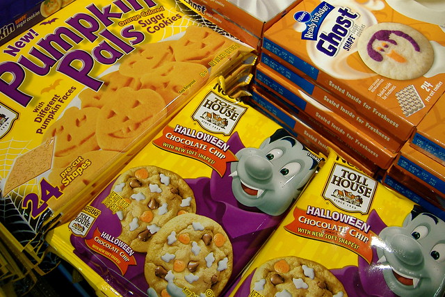 Nestle Toll House Ready to Bake Halloween chocolate chip ...