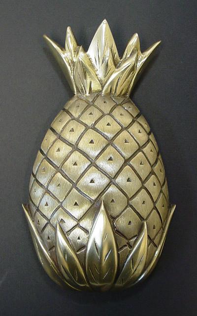 Pineapple door knocker at smith galleries flickr photo sharing - Pineapple door knocker ...