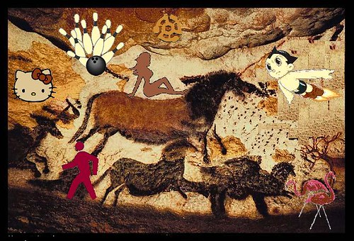 Cave Paintings: Cartoons & Neaderthals