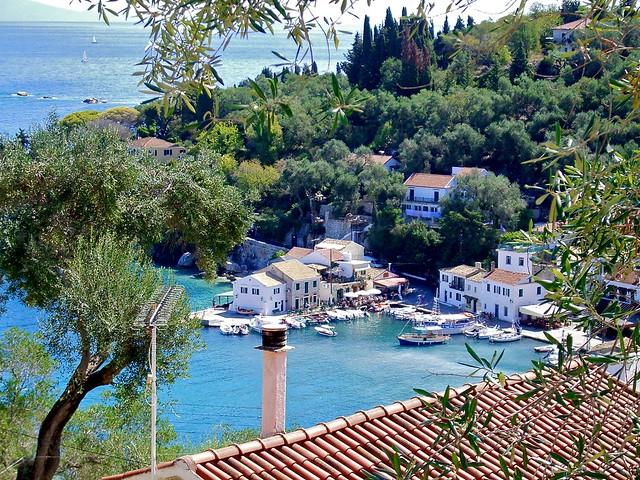 Loggos Harbour, Paxos, Greece