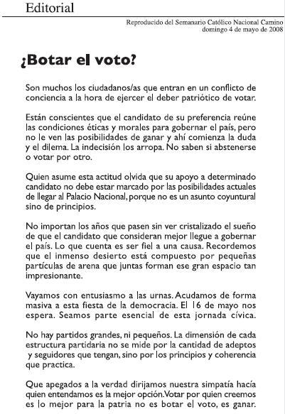 Editorial para el periodico dia eduardo estrella for Editorial periodico mural