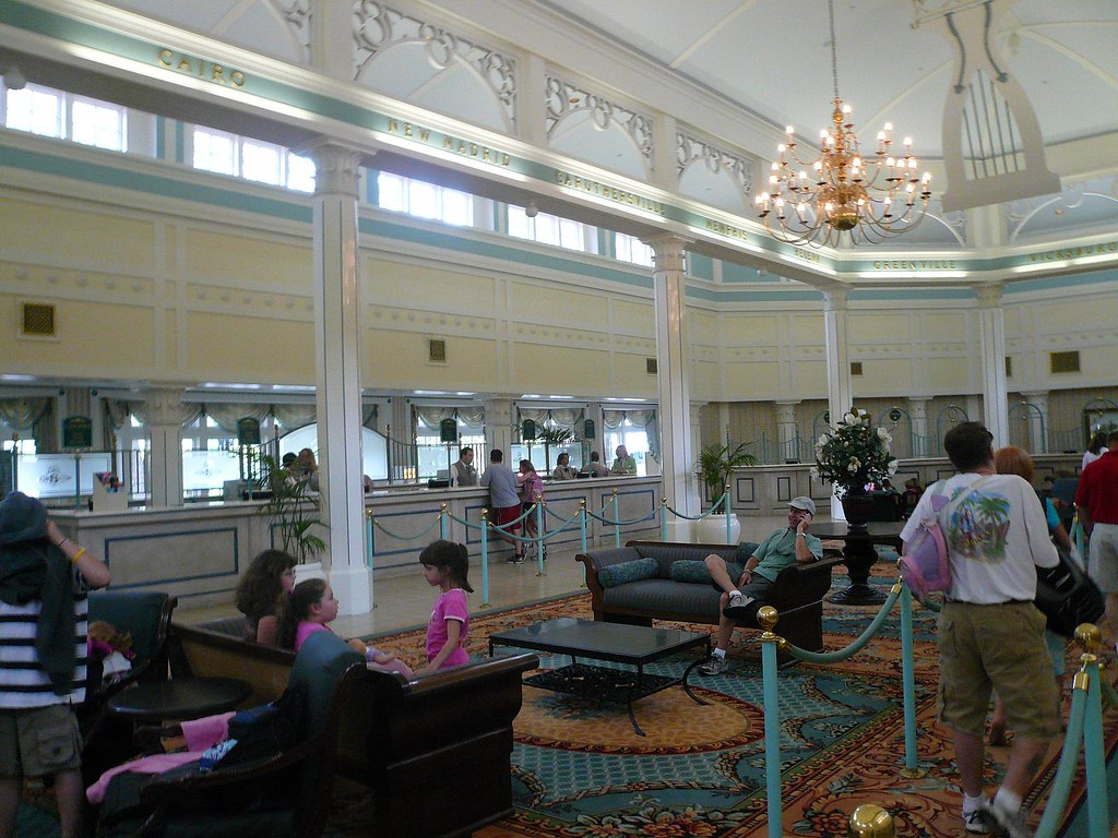 Lobby from Walt Disney World Port Orleans Hotel